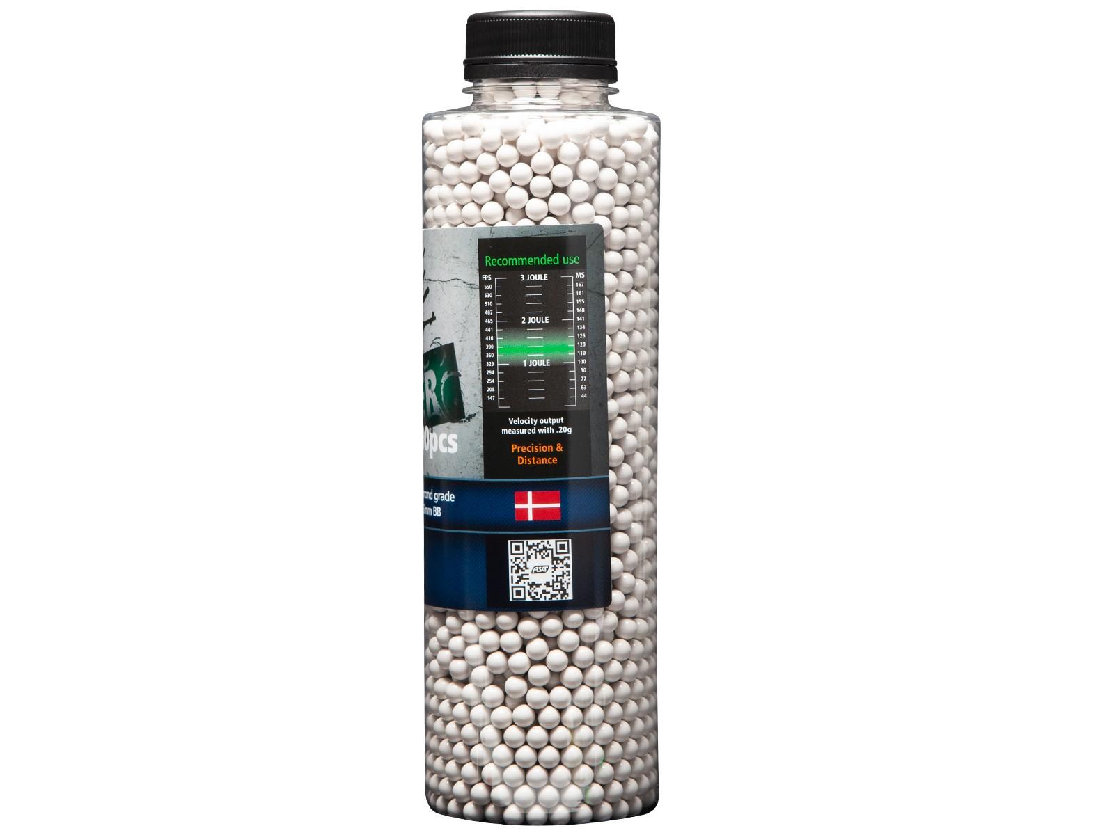 ASG - Billes bio Open Blaster - 0.25g - 3300Bbs - Blanches
