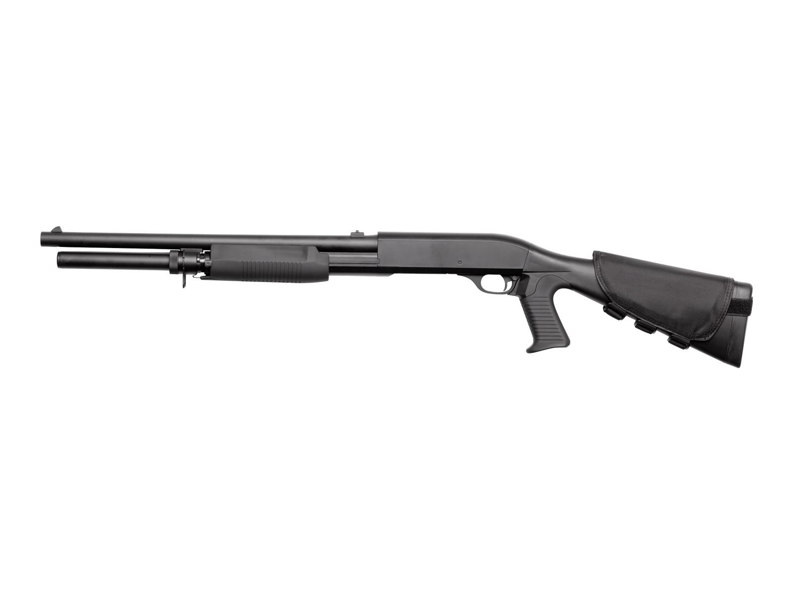 ASG - Fusil à pompe Franchi SAS 12 3-burst - Spring - Noir (1 joules)