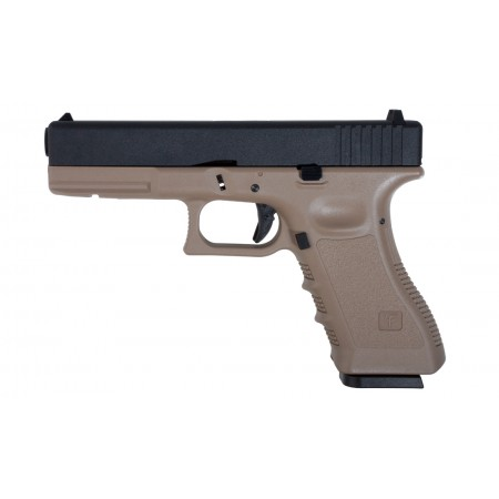 Saïgo - Pistolet type G17 MK1 - GBB - CO2 - Tan...