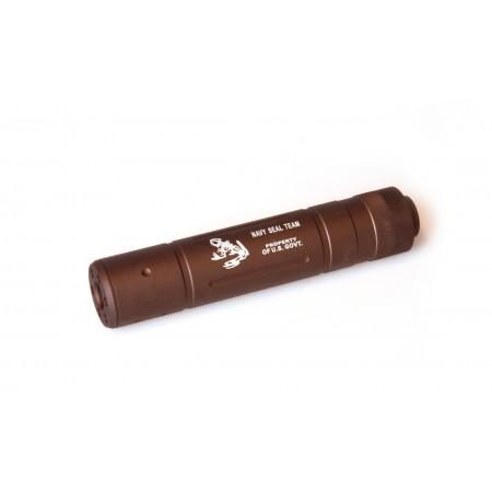 Silencieux Navy Seal - 155mm - Tan