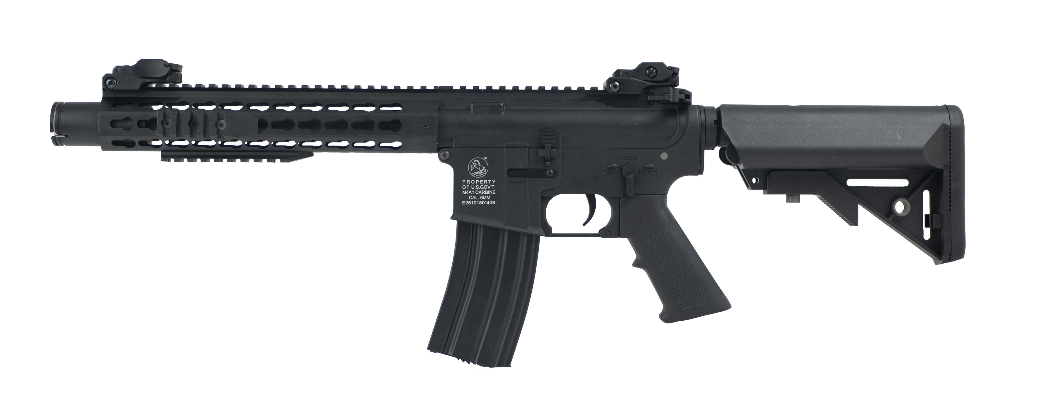 "Cybergun - Carabine ""Colt"" M4 Keymod Blast Full Metal AEG - Noir (1.1 joules)"