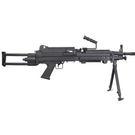 Cybergun - mitrailleuse FN M249 AEG Fibre de Nylon -...