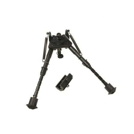 Swiss Arms - Bipied compact à ressorts - Noir