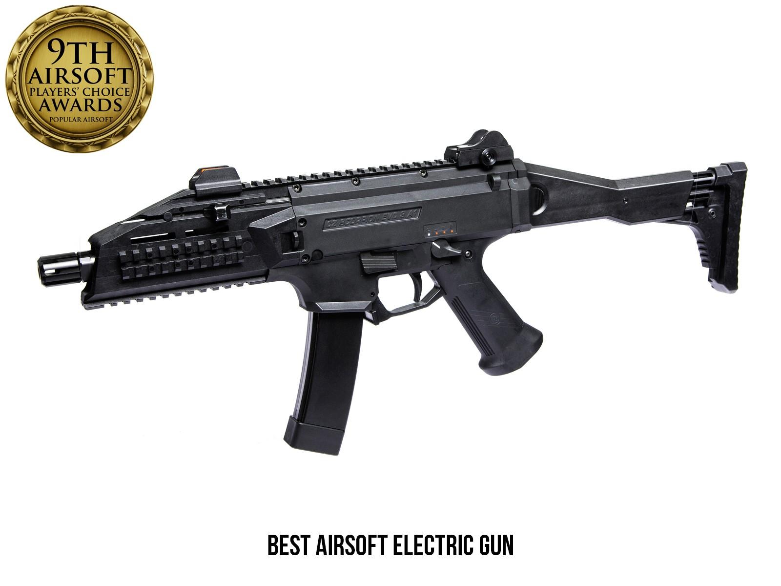 ASG - Fusil d'assaut Scorpion EVO 3 A1 AEG - Noir (1.3 joules)