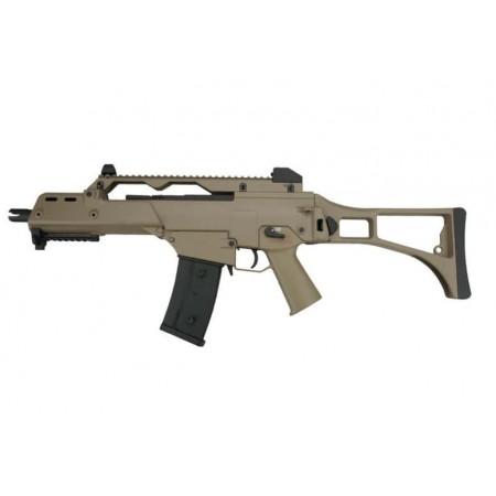 Jing Gong - Carabine G36C AEG - TAN - avec batterie...