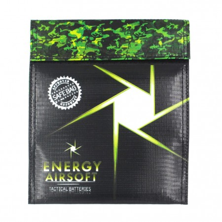 Energy airsoft - Sac ignifugé pour batterie...