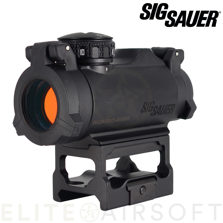 Sig Sauer - Viseur point rouge Roméo MSR - Noir