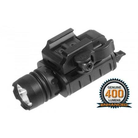 UTG - Lampe tactique - 400 Lumens - Noire