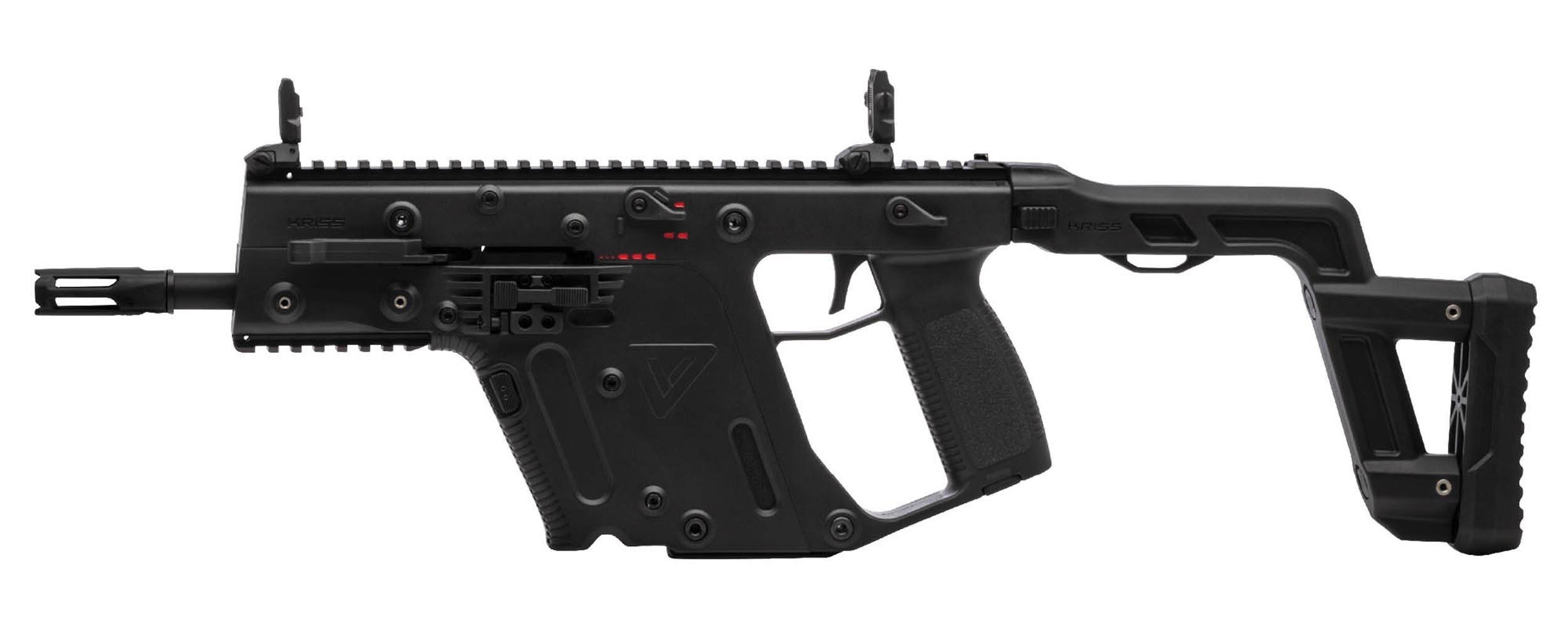 Krytac - Pistolet mitrailleur Kriss Vector SMG AEG - Noir (1.14 joules)