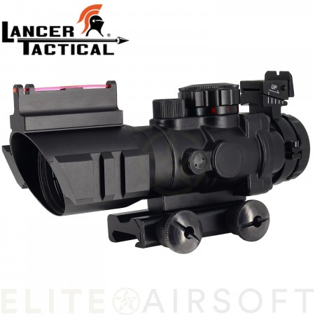 Lancer tactical - ACOG 4X32 - Noir