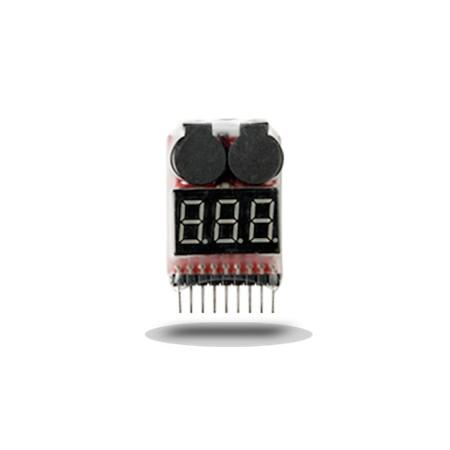 Energy airsoft - Testeur de batterie LiPo - Noir