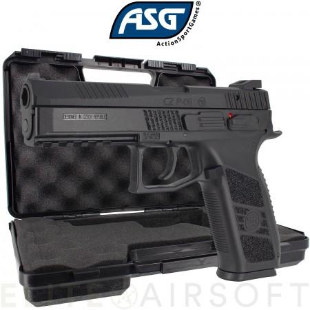 ASG - Pistolet CZ P-09 avec malette - GBB - Gaz -...