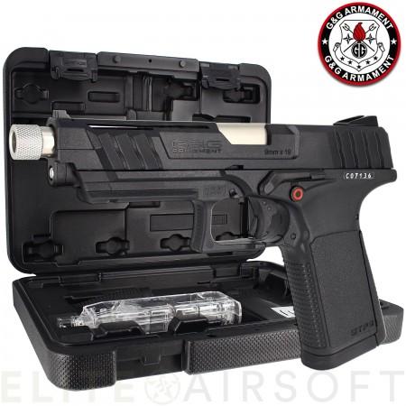 G&G - Pistolet GTP9 - GBB - Gaz - Noir (1 Joules)