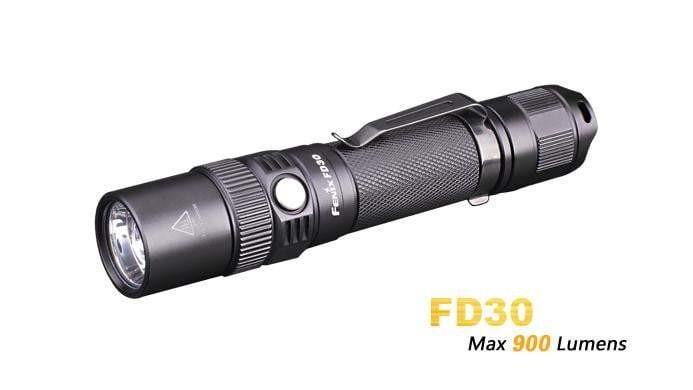 Fenix - Lampe tactique LED - FD30 - 900 lumens - Noire