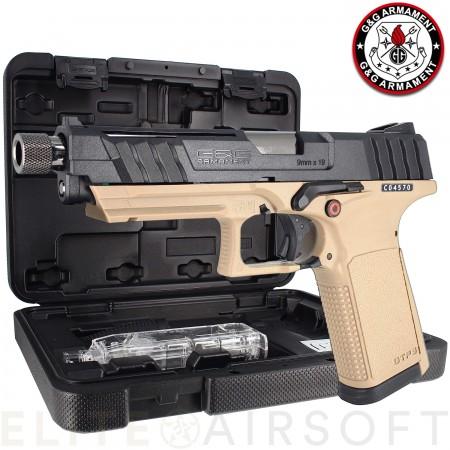 G&G - Pistolet GTP9 - GBB - Gaz - Noir /...