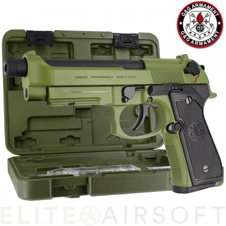 G&G - Pistolet GPM92 - GBB - Gaz - Hunter green...