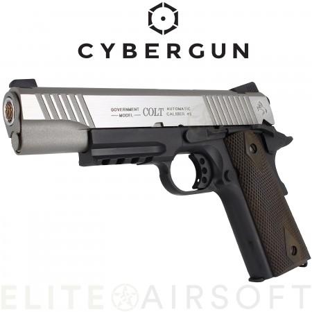 Cybergun - Colt 1911 Rail Gun - GBB - CO2 - Bicolore...
