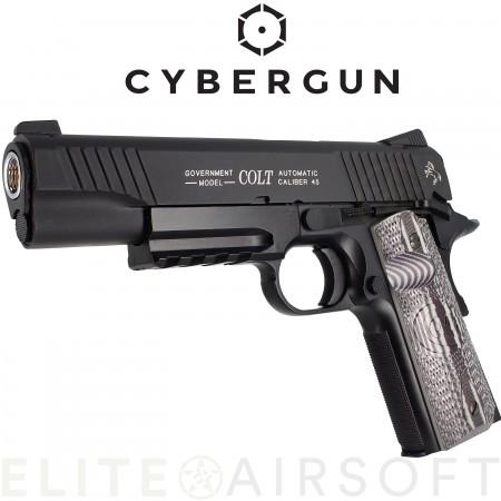 Cybergun -  Colt 1911 combat Unit - GBB - CO2 - Noir...
