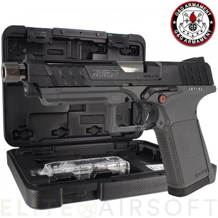 G&G - Pistolet GTP 9 - GBB - Gaz - Noir/Gris (1 joules)