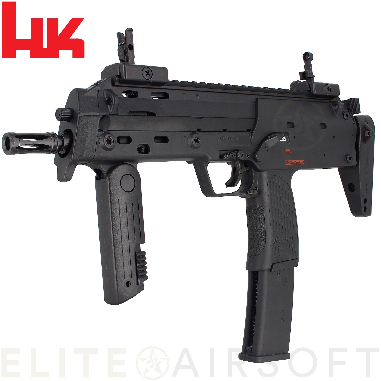 VFC - Pistolet mitrailleur H&K MP7 - GBBR - Gaz - Noir (1 joules)