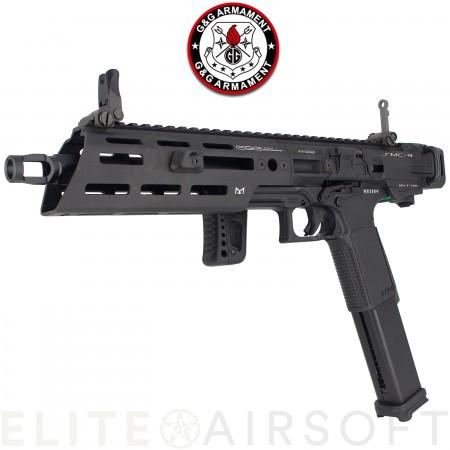 G&G - Pistolet mitrailleur SMC9 - GBBR - Gaz - Noir