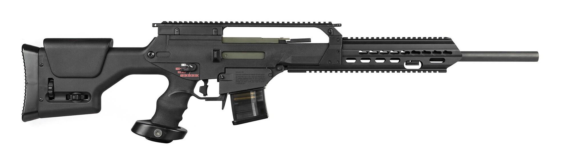 Arès - carabine SL-10 Tactical longue AEG - ECU - Noire (1.3 joules)