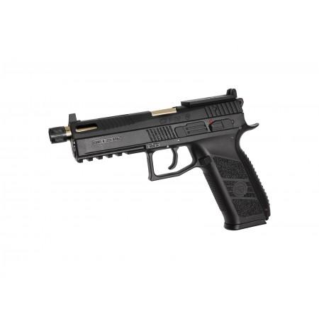 ASG - pistolet Automatique CZ P-09 GBB - CO2 - Gold...