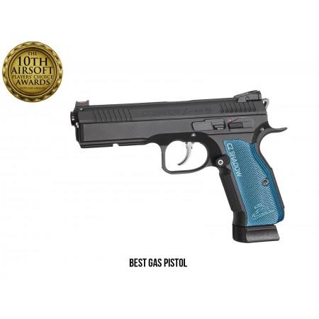 ASG - Pistolet Automatique CZ Shadow 2 GBB - CO2 - Noir