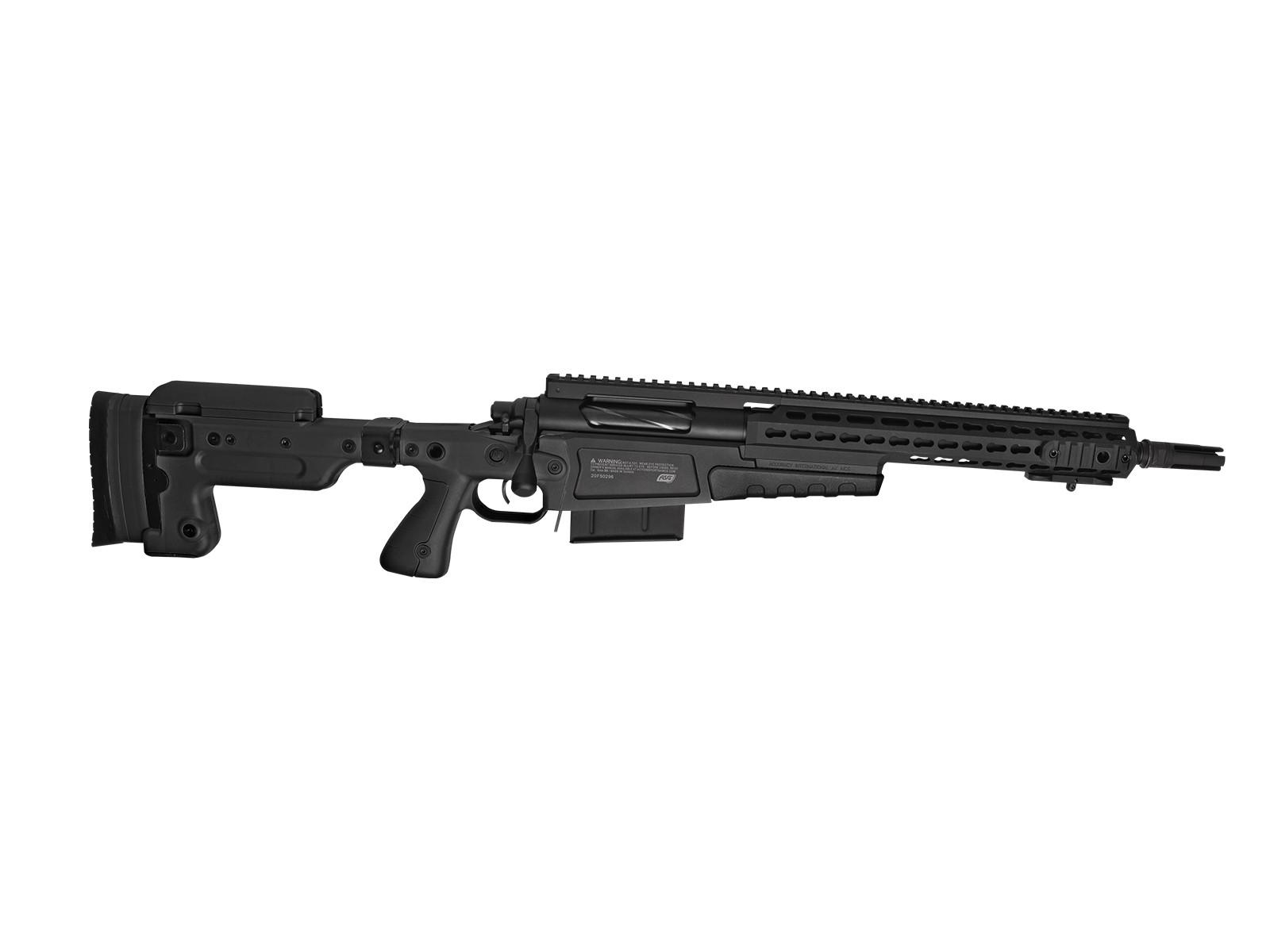 ASG - Fusil de Sniper AI MK13 Compact - Spring - Noir (2 Joules)