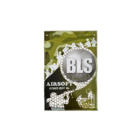 BLS - Billes biodégradables 0.43g - Blanches...
