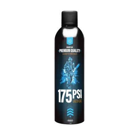 Powair - Bouteille de gaz siliconé 175 PSI - 500 ml