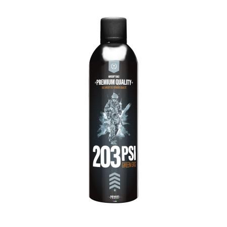 Powair - Bouteille de gaz siliconé 203 PSI - 500 ml