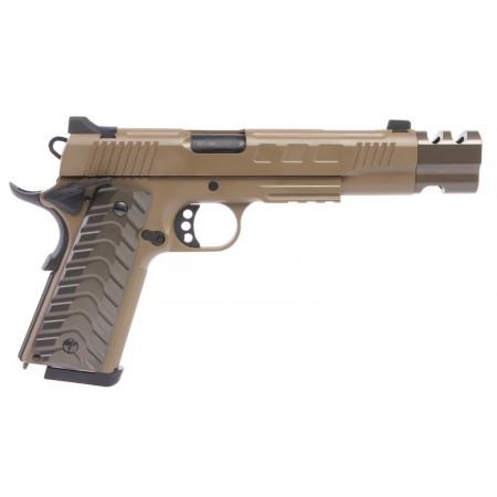 KJWorks - Pistolet KP-16 - GBB - CO2 - Dark Earth