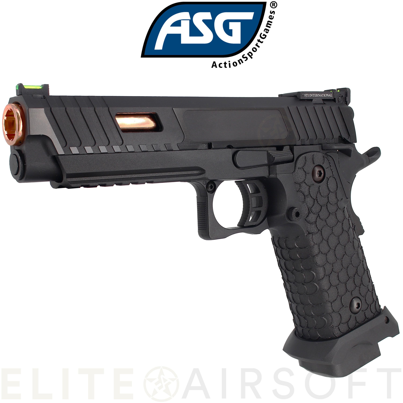ASG - Pistolet STI Combat Master 2011 - GBB - CO2 - Noir (1.1 Joule)
