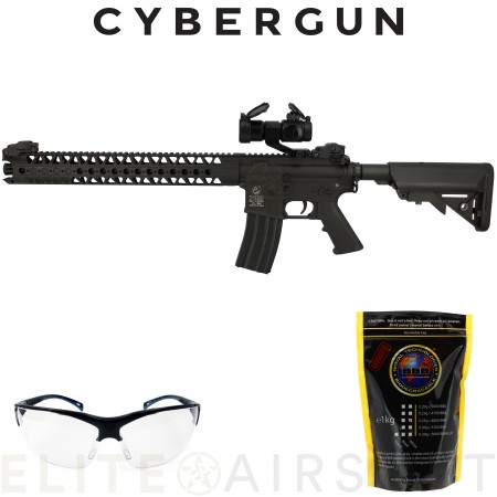 """Cybergun - Carabine """"Colt"""" M4 harvest Full..."""