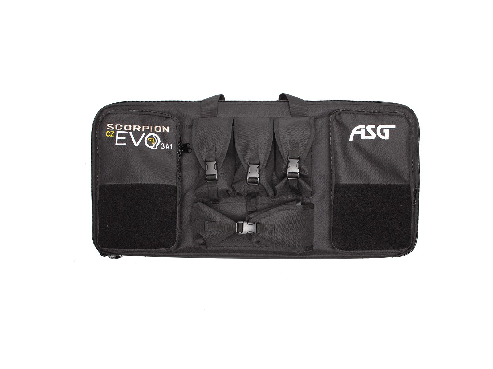 ASG - Housse spéciale Scoprion Evo3 A1 Carbine + Accessoires - Mousse prédécoupée - Noire