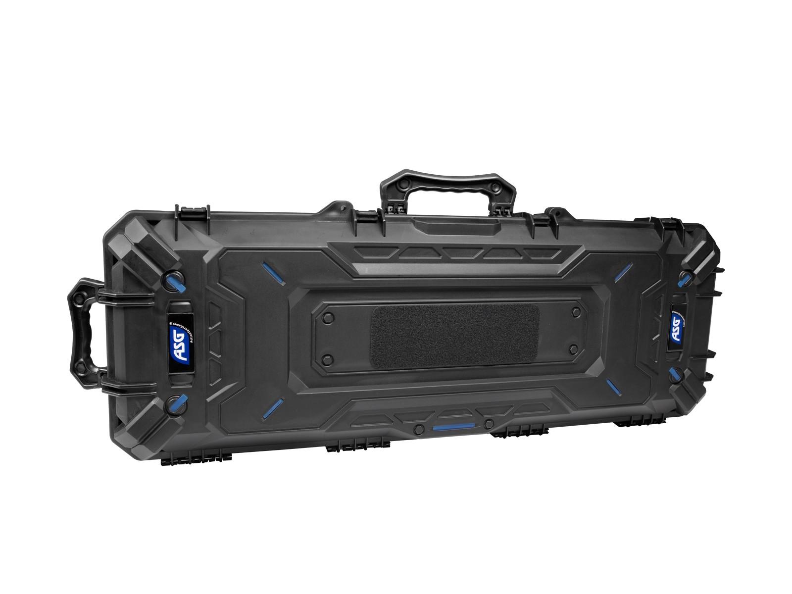 ASG - Malette de transport étanche 106cm -  mousse prédécoupée - Noire - ABS