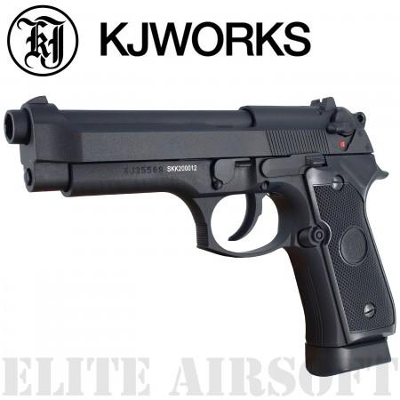 KJWorks - Pistolet M9 - GBB - CO2 - Noir