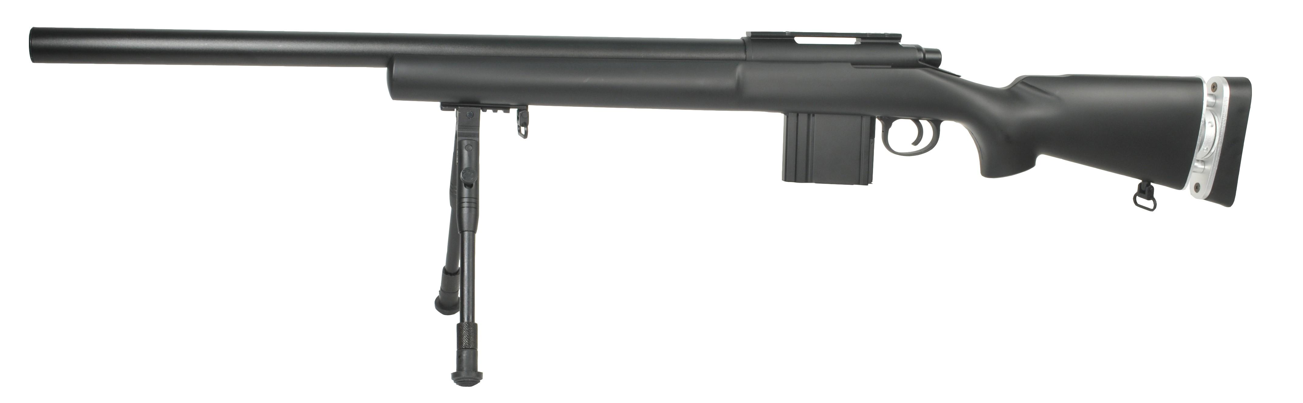 Swiss Arms - Fusil de sniper Type M24 SAS 04 - Spring - Noir (1.9 joules)