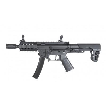 King Arms - Carabine PDW9 SBR Shorty - AEG - Noir...