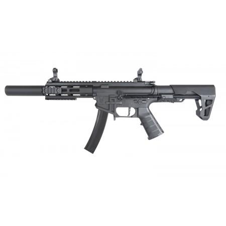 King Arms - Carabine PDW9 SBR SD - AEG - Noir  (1.2...