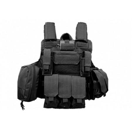 Tactical Ops - Gilet tactique MOLLE - Type Ciras