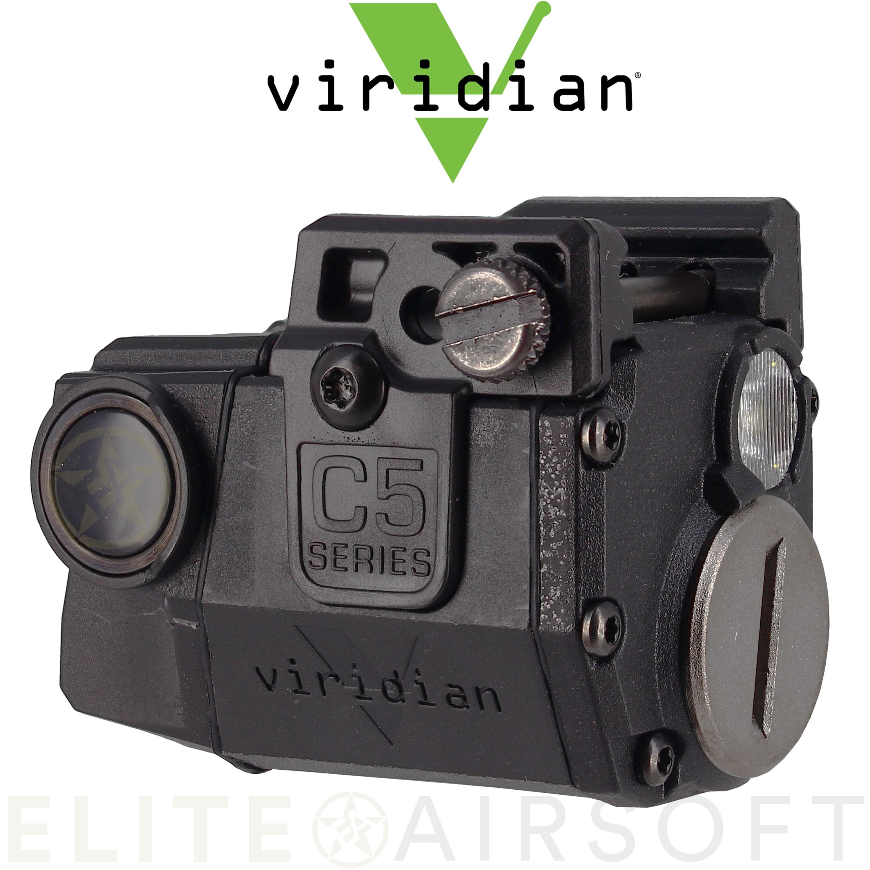 Viridian - Lampe tactique CTL C5 - 140 Lumens - Noire
