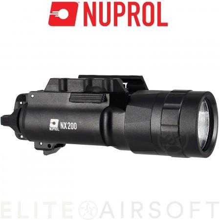 Nuprol - Lampe NX200 - 200 Lumens - Noir