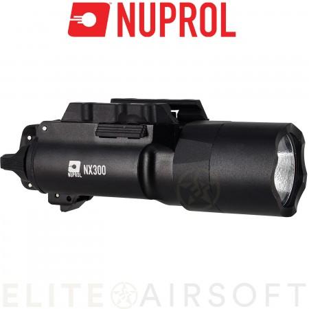 Nuprol - Lampe NX300 - 300 Lumens - Noir