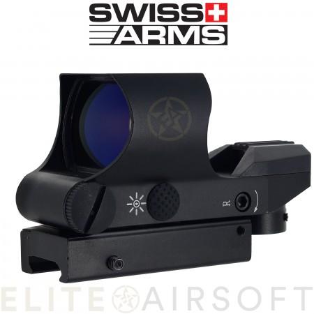 Swiss arms - Viseur point rouge multi réticule - Noir