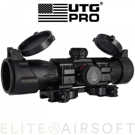 UTG - Viseur point Rouge/Vert 30mm 6.4'' - Noir