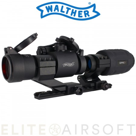 Walther - Combo X3 Walther EPS3 - Viseur point rouge...