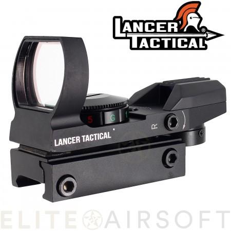 Lancer tactical - Viseur point rouge/vert...