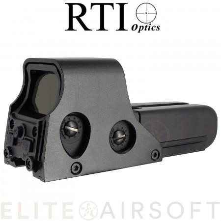 RTI - Viseur point rouge/vert Advanced 552 - Noir